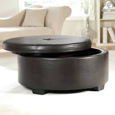 Leather Storage Ottoman Bench Furniture Colorful Ottoman Coffee Table Long Leather Ottoman
