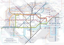 New York Tube Map by London Restaurant Tube Map U2013 A Spoonful Of Sugar