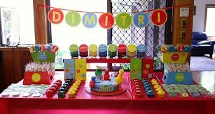 2nd birthday decorations at home sunny days guest dessert feature sesame street party sesame