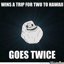 Hawaii Memes - forever alone hawaii by barteko meme center