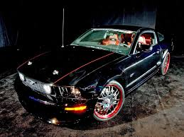 2005 Ford Mustang Gt Black 2005 Ford Mustang Gt Coupe By Bonspeed The Black Rose Front