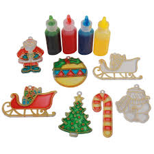 glass painting christmas decorations glass decoration glass