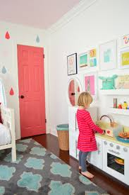 a soft neutral paint color for the nursery playrooms kids play
