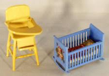 vintage dollhouse nursery sets ebay