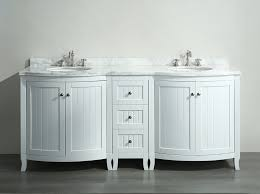 White Carrera Marble Bathroom - white 72 inch double sink bathroom vanity with white carrera