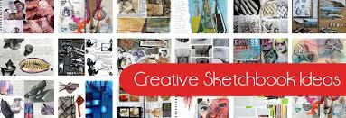 creative sketchbook ideas