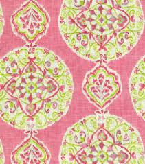 Pink Home Decor Fabric Home Decor Print Fabric Dena Mirage Medallion Petal Joann