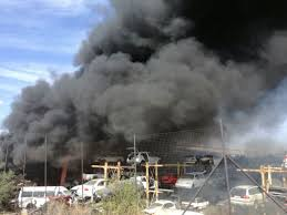 lexus spare parts newcastle breaking news fire breaks out at tommy u0027s auto parts newcastle