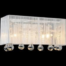 vanity wall sconce lighting brizzo lighting stores 12 gocce modern crystal string shade vanity