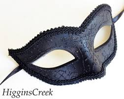 black masquerade masks for men mens masquerade mask etsy