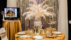 great gatsby themed wedding great gatsby themed wedding show booth for walper hotel the