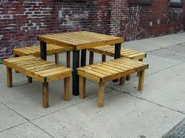 wooden table and bench chair w masculine outdoor wooden extension table natural wood make