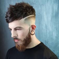 textured crop hairstyle for balding men latest men haircuts