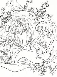 la sirenita coloring 6 pinterest coloring books disney