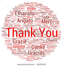 thank you word cloud background all stock vector 525190096