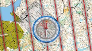 Usa Map With Compass by How To Use A Compass Easy Compass Navigation With The Silva 1 2