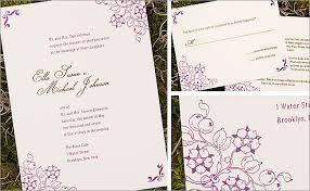 Printing Wedding Invitations Wedding Cards Print Pacq Co