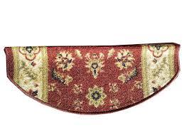 tappeto per scale paragradini per scale fiori rosso tappeto scale sagomato
