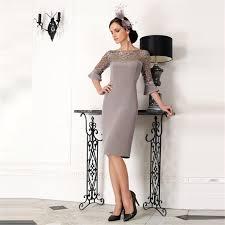 robes m re du mari vente chaude genou longueur mère de la mariée robes 2016
