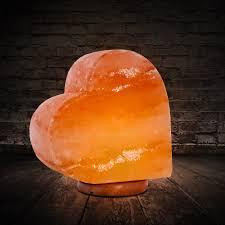 heart shaped himalayan salt lamp beautiful healthy glow