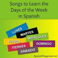 days of the week song song for kids november lesson plans