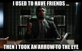 Arrow Memes - 15 funniest arrow vs deathstroke memes that will make you laugh out loud