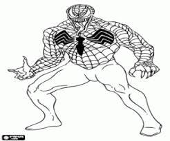 venom spiderman enemy coloring brecken u0027s 5th birthday