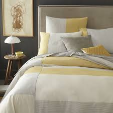 amazing carollynn tice abstraction gray yellow cotton duvet cover