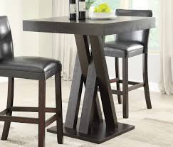 Dining Room Bar Table by Cappuccino Finish Bar Table Caravana Furniture