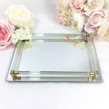 Antique Dresser Vanity Rectangle Gold Bar Vanity Mirror Tray Antique Dresser Vanity