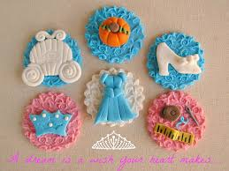 cinderella cupcakes embossed disney cinderella cupcake toppers disney every day