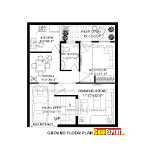 house plan for 26 feet by 30 feet plot plot size 87 square yards