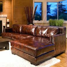Leather Sectional Sofa Clearance Clearance Sectional Sofas And Look For Less Option 3 Brown Leather