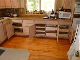 Kitchen Sliding Shelves by Kitchen Sliding Cabinet Organizer Slide Storage Cabinet Kitchen