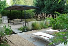 small contemporary garden with contemporary resort garden wing