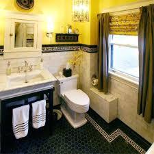 black and yellow bathroom ideas grey yellow bathroom goes with my black and yellow tile bathroom