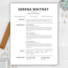 Adobe Illustrator Resume Template Resume Templates Word Download Creative Resume Template Resume