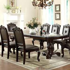 extra long dining room tables dining tables double pedestal dining room table kiera