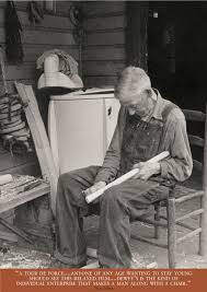 Old Man In Rocking Chair Chairmaker Appalshop