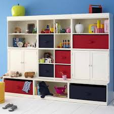 kids room storage furniture blue stain wooden wall mirror frame