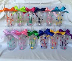 bridesmaid cups personalized tumbler monogram tumblers monogram cups bridesmaid