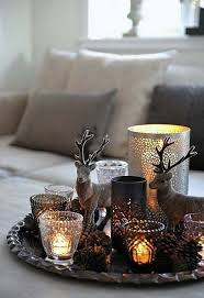table top decoration ideas most tabletop christmas decorations endearing stunning rustic