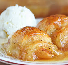 crescent roll apple dumplings sugar apron