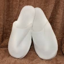 bedroom slippers closed toe towelling slippers by bc softwear