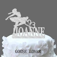 name cake topper ballerina dancer wedding cake topper personalized name cake topper