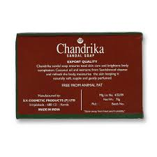 uk wholesale distributor of chandrika mysore sandal and medimix