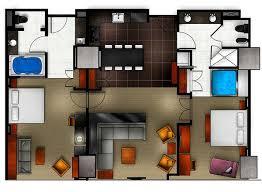 2 bedroom vegas suites las vegas hotels suites 2 bedroom creative plans review hilton