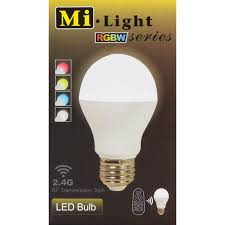 Led Light Bulb Lumens by Milight Wifi Controllable 6w 450 Lumen Rgbw Led Light Bulb Cool