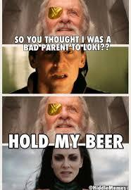 Bad Parent Meme - bad parent odin meme quirkybyte