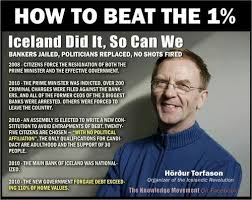 Iceland Meme - iceland overthrew its government and indicted bankers after